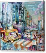 City Road Canvas Print