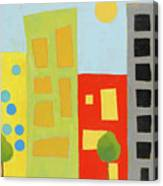City Scene 2 Canvas Print