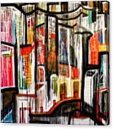City Scene Canvas Print