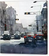 City Shadows 2 Canvas Print