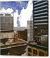 City Skies Canvas Print