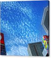 City Sky Canvas Print