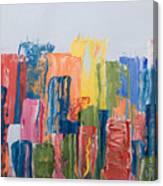 City Skyline 1 Canvas Print