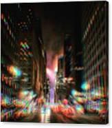City Speed  Canvas Print