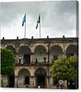 City Square Antigua Guatemala Canvas Print