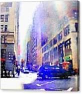 City Street Canvas Print