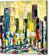 City Sunrise Canvas Print