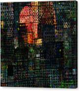 City Sunset 2010 Canvas Print