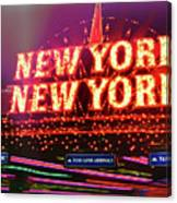 City That Never Sleeps Canvas Print
