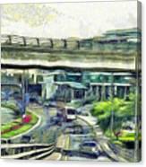 City Traffic Canvas Print