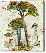 City Trees Canvas Print