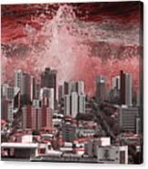 City Under Water Canvas Print