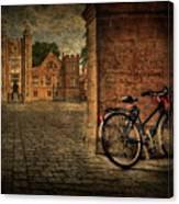 City Wheels Canvas Print