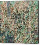 City Woman Canvas Print