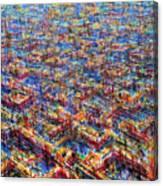 Citypattern Canvas Print