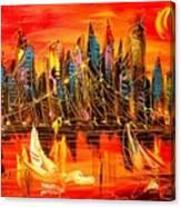 Cityscape Canvas Print