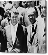 Civil Rights Leaders L To R Martin Canvas Print
