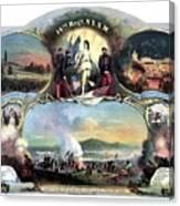 Civil War 14th Regiment Memorial Canvas Print