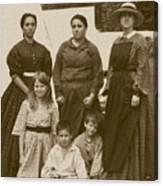 Civil War A Family Affair Canvas Print