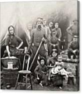 Civil War: Camp Life, 1861 Canvas Print