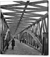 Civil War - Chain Bridge Canvas Print
