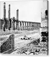 Civil War: Charleston Ruins Canvas Print