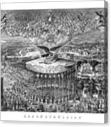 Civil War Reconstruction Canvas Print