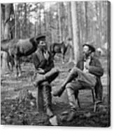 Civil War: Soldiers, 1864 Canvas Print