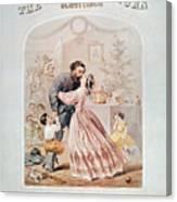 Civil War: Songsheet Canvas Print