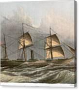 Civil War: Uss Kearsarge Canvas Print
