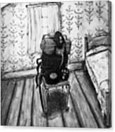 Rhode Island Civil War, Vacant Chair Canvas Print