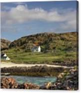 Clachtoll Beach Canvas Print