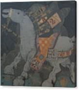 Clad  Canvas Print
