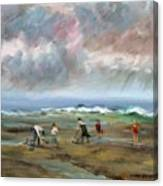 Clam Diggers - Sold Canvas Print