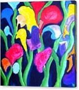 Clamflower Iv Canvas Print