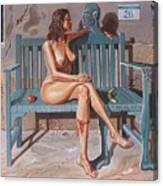 Clandestine Libido Canvas Print