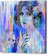 Clara Bow I'll See You In New York Canvas Print