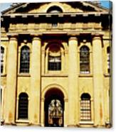Clarendon Building, Broad Street, Oxford Canvas Print