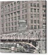 Clark Street Bridge Canvas Print