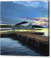 Clark's Air Service Canvas Print