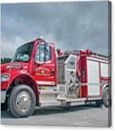 Clarks Chapel Fire Rescue - Engine 1351, North Carolina Canvas Print