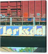 Clarksdale Overpass Canvas Print