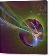 Clash Of Energy Canvas Print