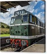 Class 31 Diesel 3 Canvas Print