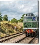 Class 31 Diesel 4 Canvas Print