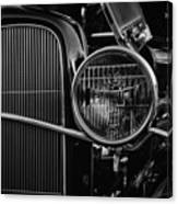 Classic American Ford Coupe Canvas Print