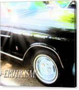 Classic Automobile, Auto Eroticism Canvas Print