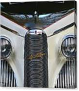 Classic Car Front End Canvas Print