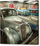 Classic Car Memorabilia Canvas Print