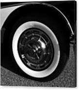 Classic Corvette Lines Canvas Print